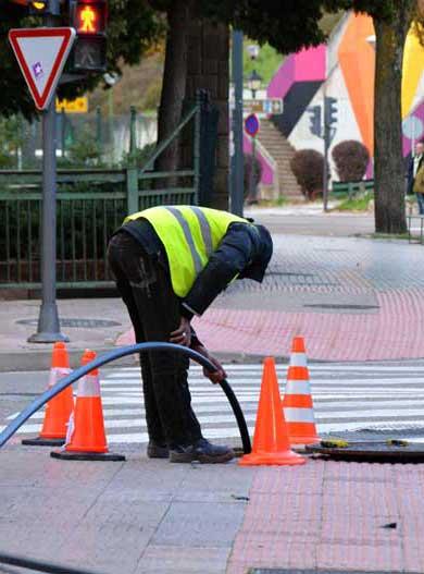 london street drain unblocking