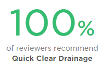 100% positive drain unblocking reviews